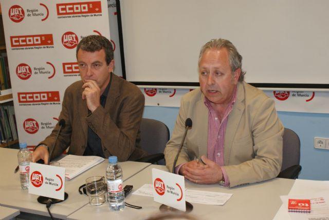 UGT y CCOO convocan a la ciudadanía murciana a participar en la fiesta del trabajo del 1° de mayo - 2, Foto 2