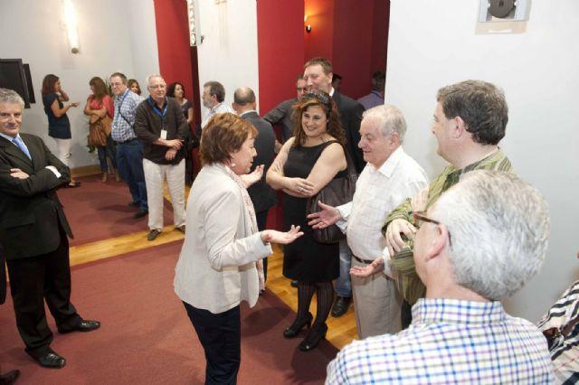 La alcaldesa recibió a las delegaciones del Campeonato de España de Voleibol - 2, Foto 2