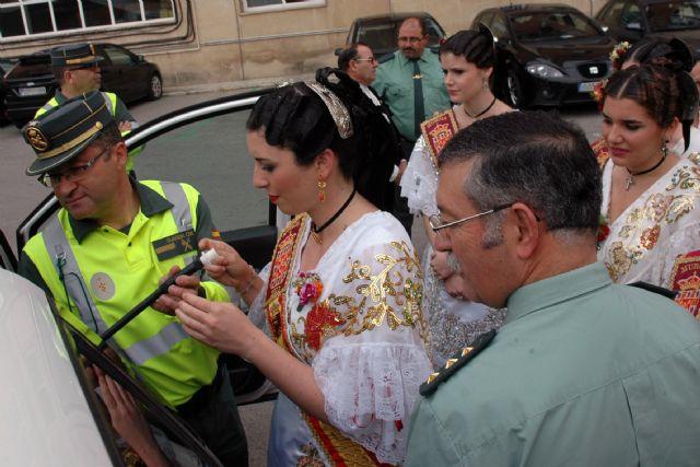 La Reina de la Huerta y sus Damas de Honor visitan las instalaciones de la Guardia Civil de Murcia - 3, Foto 3