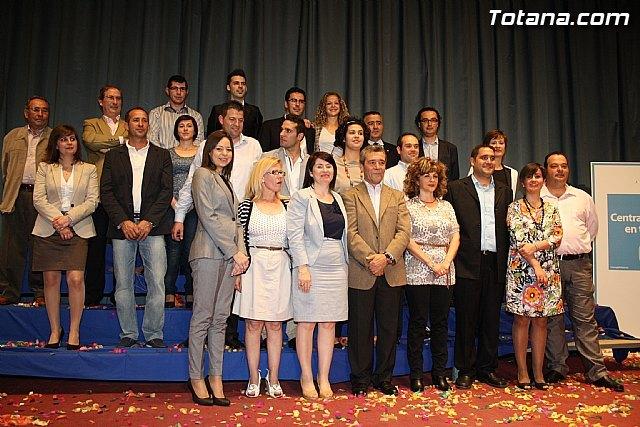 El Partido Popular de Totana presenta a las 24 personas que integran la candidatura que concurrirá a las elecciones municipales del 22 de mayo - 1, Foto 1