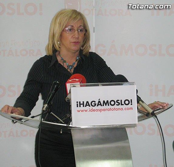 Rueda de prensa de Belén Muñiz (PSOE) sobre Ley de Dependencia - 1, Foto 1
