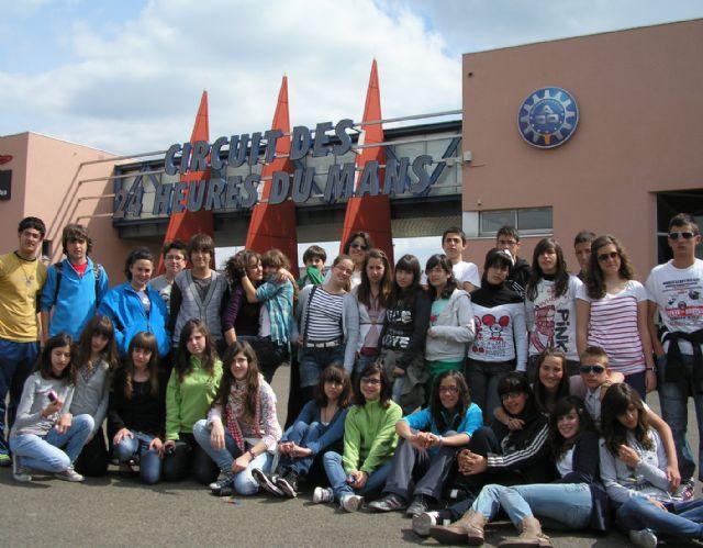 Un grupo de 34 alumnos del IES Infanta Elena participó en una intercambio escolar en Francia - 1, Foto 1