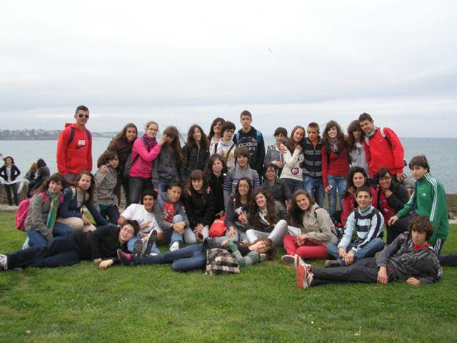Un grupo de 34 alumnos del IES Infanta Elena participó en una intercambio escolar en Francia - 2, Foto 2