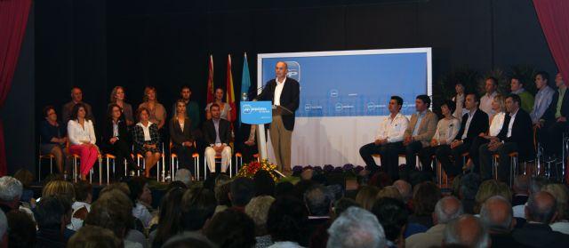 Éxito absoluto en la presentación de la candidatura del Partido Popular de San Javier para las próximas elecciones municipales - 1, Foto 1