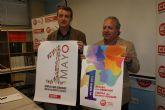 UGT y CCOO convocan a la ciudadanía murciana a participar en la fiesta del trabajo del 1° de mayo