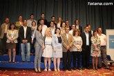 El Partido Popular de Totana presenta a las 24 personas que integran la candidatura que concurrirá a las elecciones municipales del 22 de mayo