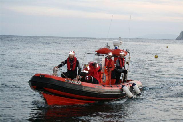 Cruz Roja de Águilas rescata a un pescador en el Cabezo de Cope - 1, Foto 1