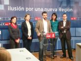 Los candidatos y candidatas socialistas a la Asamblea Regional hacen públicos los datos de sus ingresos y de sus patrimonios