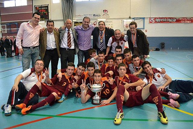 La selección murciana cadete, campeona de España de Fútbol Sala - 1, Foto 1