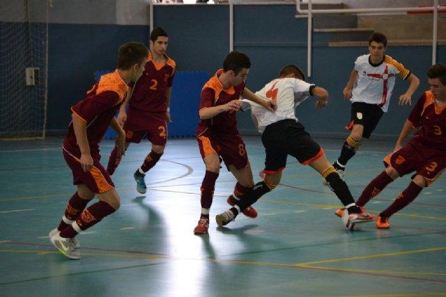 La selección murciana cadete, campeona de España de Fútbol Sala - 2, Foto 2