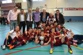 La selección murciana cadete, campeona de España de Fútbol Sala