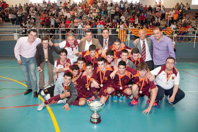 La Selección Murciana gana el Campeonato de Selecciones Sub-16, celebrado en Mazarrón - 1, Foto 1