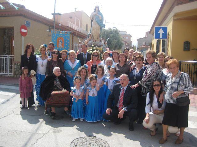 El Alcalde participa en la Fiesta de la Purísima en Sangonera la Verde - 1, Foto 1
