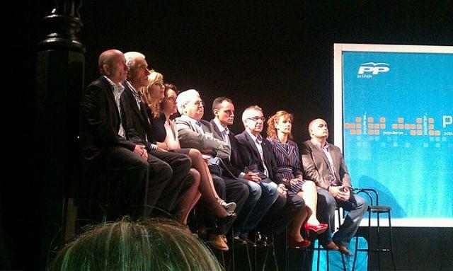 Gran éxito en la presentación de la candidatura Popular en La Unión - 4, Foto 4