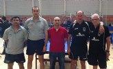 Tenis de mesa. Campeonato de España de veteranos. Buen papel de Domingo en individual y en dobles