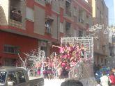 El desfile de carrozas pone fin a las Fiestas de Primavera 2011