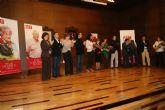 Begoña García Retegui anima a trabajar y darle la vuelta a La Unión y a la Región en un homenaje a dos históricos de la localidad