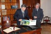 Valcárcel firmará un convenio con la Comisión Europea para apoyar la movilidad de las pymes murcianas