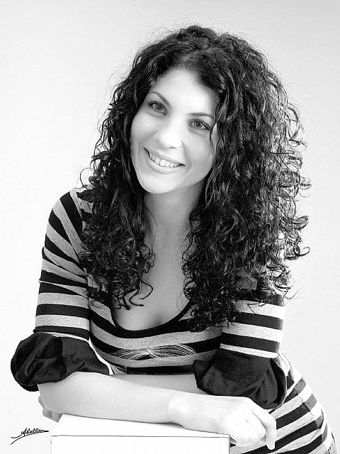 Margarita Sánchez finalista en un concurso internacional de peluquería, Foto 1