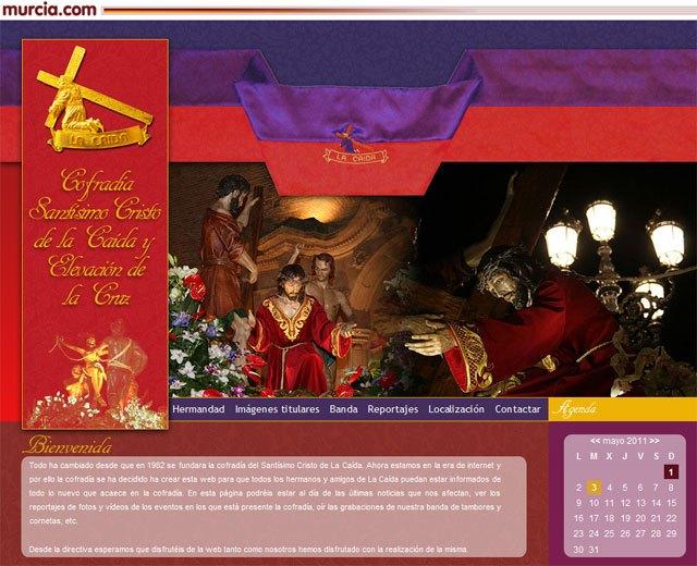 La cofradía del Santísimo Cristo de la Caída publica más de 1500 fotos de la Semana Santa 2011 en su web, Foto 1