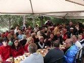 Mas de 200 militantes acuden a celebrar el D�a de la Rosa del Partido Socialista de Totana