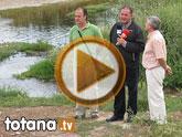 IU-Verdes pone en evidencia la nefasta depuraci�n de aguas, demostrando la contaminaci�n en el lecho del R�o Guadalent�n