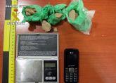 La Guardia Civil detiene una persona por tráfico de droga, en Los Ruices-San Javier