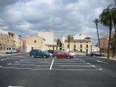 Nuevo aparcamiento en Santomera