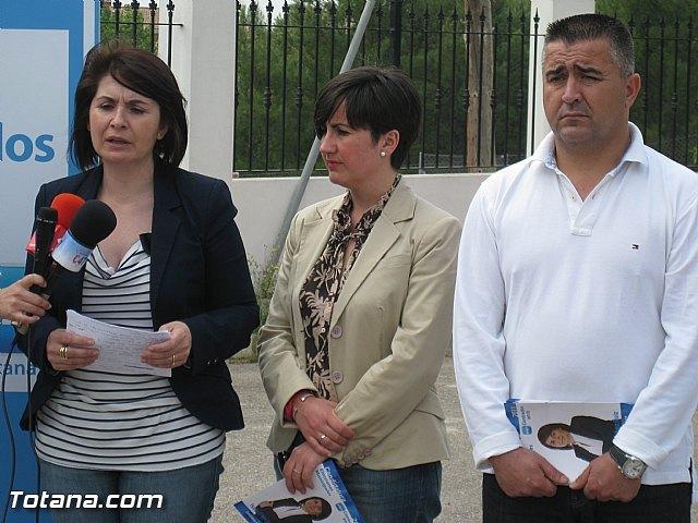 La candidata a la alcaldía por el PP asegura que todo el documento del Plan General estará aprobado a final de año, Foto 2