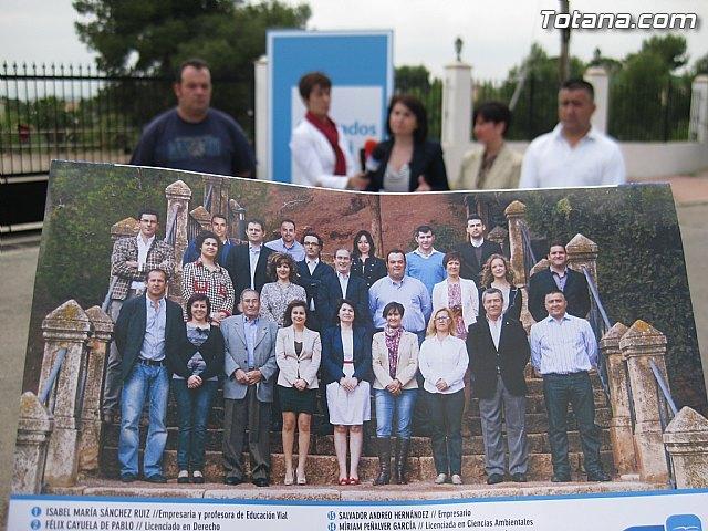 La candidata a la alcaldía por el PP asegura que todo el documento del Plan General estará aprobado a final de año, Foto 5