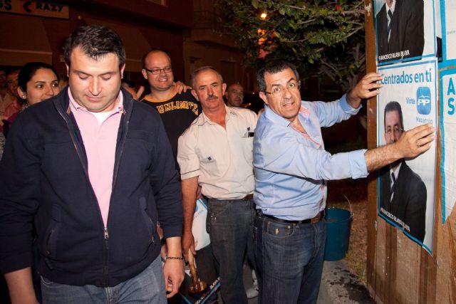 El Partido Popular de Mazarrón arranca la campaña electoral con fuerza - 1, Foto 1