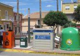 Nuevos contenedores para recoger aceite usado en Las Torres de Cotillas