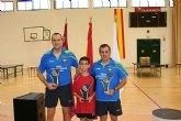 El pasado Sábado se disputó en Totana el Campeonato Autonómico de Dobles de Tenis de Mesa de todas las categorías