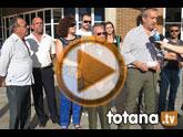 Rueda de prensa PSOE Totana. Propuestas para las Personas Mayores