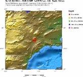 Avance: Un seísmo de 4,5 grados, con epicentro en Lorca, sacude la Región de Murcia