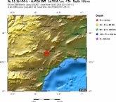 Nuevo terremoto en la zona de Lorca