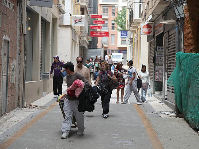 Cáritas se moviliza para ayudar a los damnificados de Lorca, Foto 1