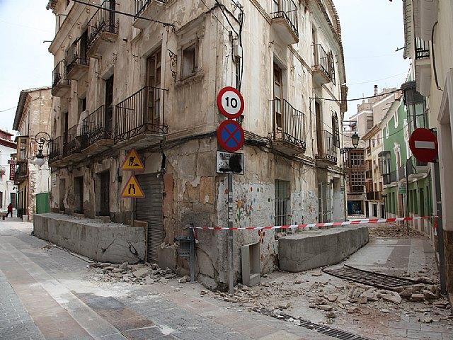 Parte (09:00 horas) Se mantiene en ocho el número de víctimas mortales tras los terremotos de Lorca, Foto 1