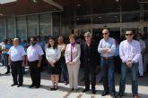 Minuto de silencio por los fallecidos en los terremotos de Lorca