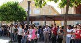 La UCAM guarda un minuto de silencio por las víctimas del terremoto de Lorca