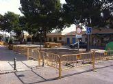Comienzan las obras de reforma de la plaza torreña de Tirso de Molina