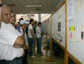 Los alumnos de la Escuela Taller que construyen el Cuartel de la Policía Local de La Alberca aprenden sobre prevención de riesgos laborales