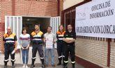 Cientos de lumbrerenses acuden a la Oficina de Solidaridad con Lorca para ayudar a los ciudadanos afectados por el terremoto
