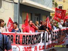Los empleados públicos del ayuntamiento de Ricote se concentran de nuevo para exigir la negociación de sus condiciones laborales, paralizadas desde 2002 - 2, Foto 2