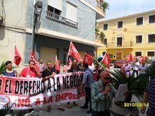 Los empleados públicos del ayuntamiento de Ricote se concentran de nuevo para exigir la negociación de sus condiciones laborales, paralizadas desde 2002 - 4, Foto 4