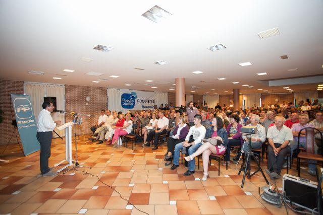 Cañada de Gallego se vuelca con el mitin del Partido Popular - 1, Foto 1