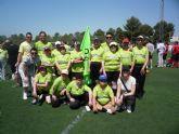 El Centro de Día 'José Moya' participa en el Campeonato Regional de Fútbol 7