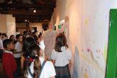 Decenas de niños y mayores celebran hoy el Día de los Museos en el museo municipal de San Javier