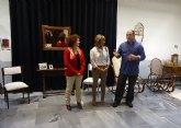 Alumnos del taller municipal de Restauración exponen sus muebles en el Palacio Barón de Benifayó