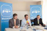 La econom�a centra la atenci�n de una charla sectorial del Partido Popular de Mazarr�n